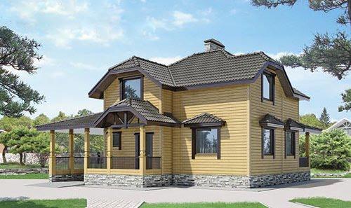 Проект среднего дома №3
