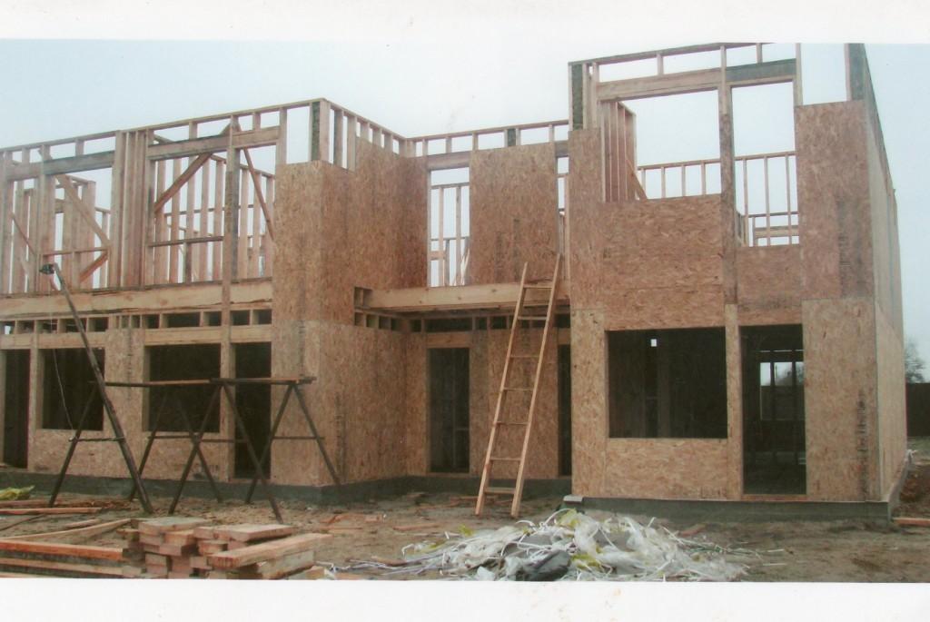 История каркасного строительства