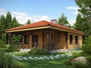 Проект небольшого дома №4