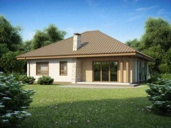 Проект среднего дома №1